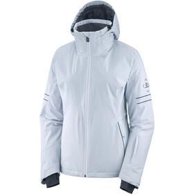 Salomon The Brilliant Chaqueta Mujer, kentucky blue/wht/ebony
